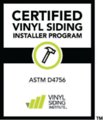 Certified Vinyl Siding Installer Program